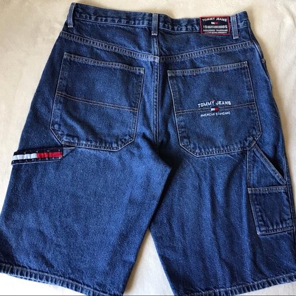 1fe053874 Tommy Hilfiger Shorts   Vintage Tommy Jeans Mens Denim Sz 34   Poshmark